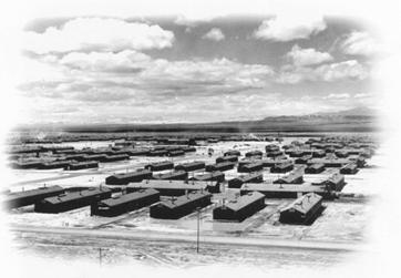 Photo of Topaz concentration camp.